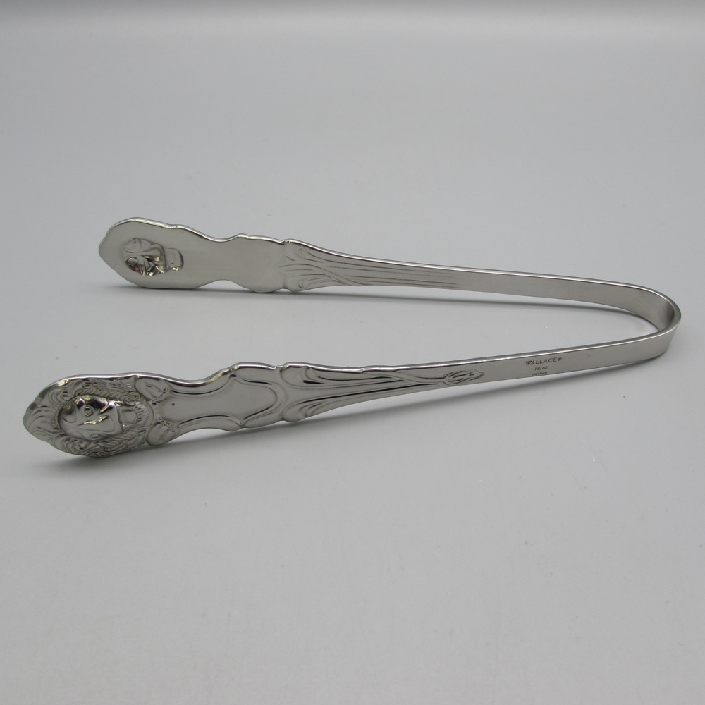 Zwilling Tongs: Wallace Lion 18/10 Stainless Steel Ice Tong