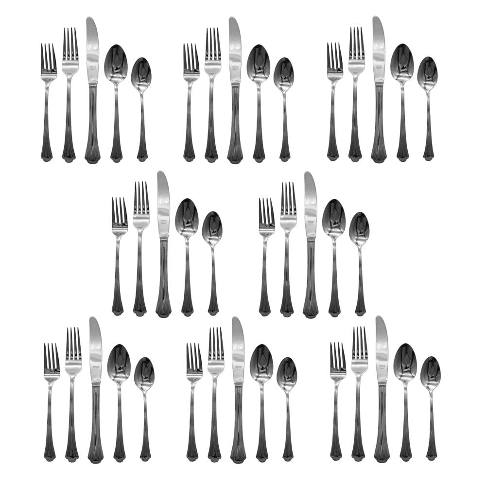 Gorham Meredith 18/8 Stainless Steel Flatware 8 Knives 9 ... |Gorham Flatware Patterns Stainless Steel